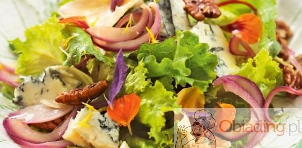sałatka z serem