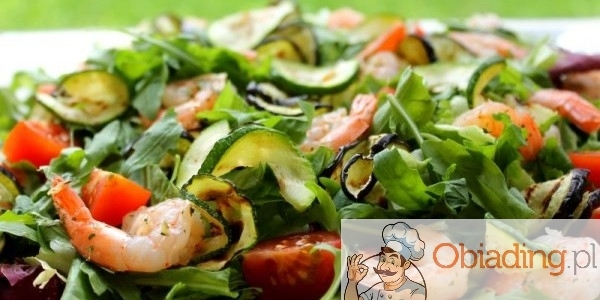 salatka z krewetkami