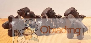 Dinozaury z czekolady