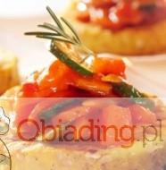 wegetarianskie torciki z polenty